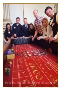 We provided high quality craps tables