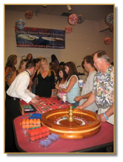 Exciting Roulette Table Action!