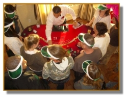 Blackjack and Poker Table Rentals