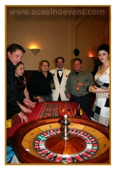 Roulette table & equipment rentals